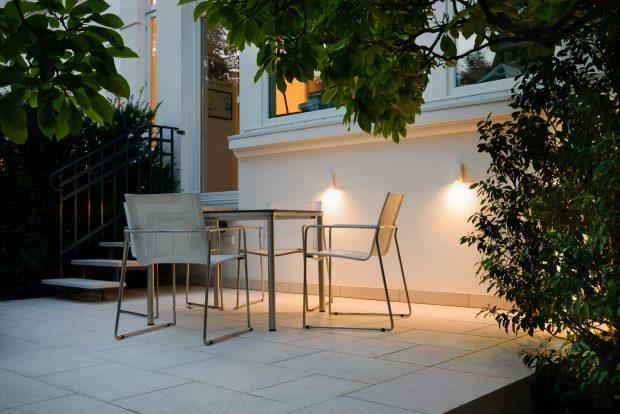 Terrasse, Beleuchtung, Licht, Prediger Lichtberater