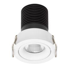Beim Deckeneinbaustrahler aus dem Hause Prediger lässt sich das LED-Modul problemlos auswechseln. Foto: Prediger