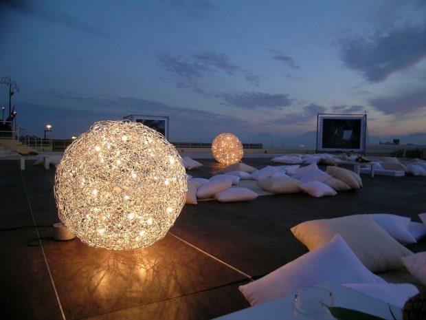 dekorative Gartenleuchten, Fil de Fer Terra LED Outdoor, Catellani