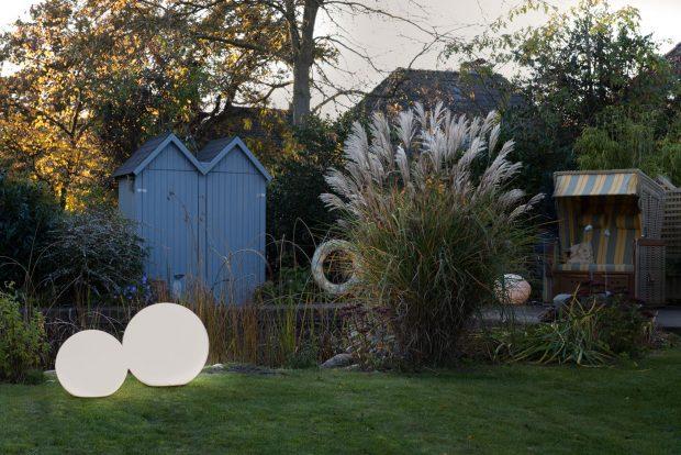dekorative Gartenleuchten Kugelleuchten Garten