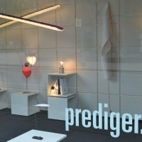 Ingo Maurer, Schaufenster, Design, Leuchte, Lampe, Showroom Hamburg, Prediger Lichtberater