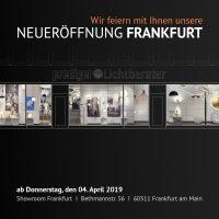 Prediger Lichtberater, Showroom Frankfurt am Main, Neueröffnung