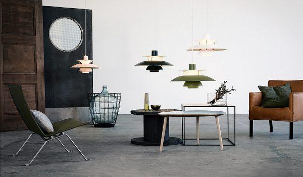 Ein absoluter Leuchten-Klassiker und eine Ikone des skandinavischen Designs: Die Pendelleuchte PH 5, die Poul Henningsen für Hersteller Louis Poulsen entwickelt hat. Foto: Louis Poulsen