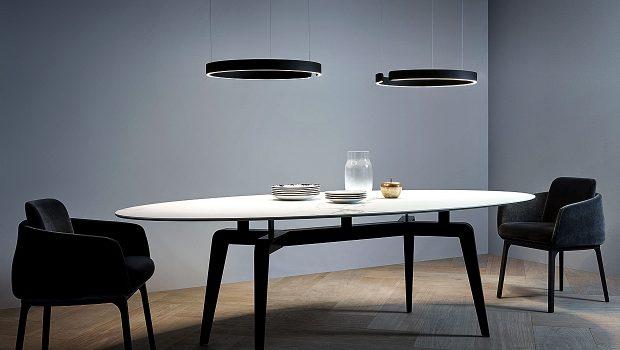occhio mito der mythos des lichts kommt als ringleuchte. Black Bedroom Furniture Sets. Home Design Ideas
