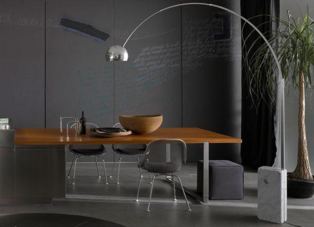 Prediger Lichtberater, italienisches Design, Arco, Flos
