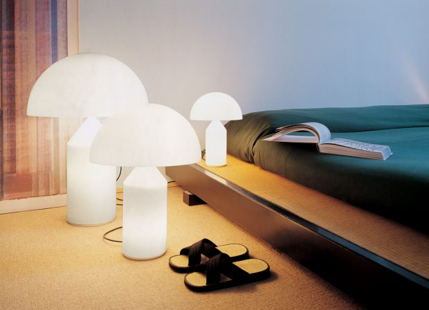 Prediger Lichtberater, italienisches Design, Atollo, Oluce