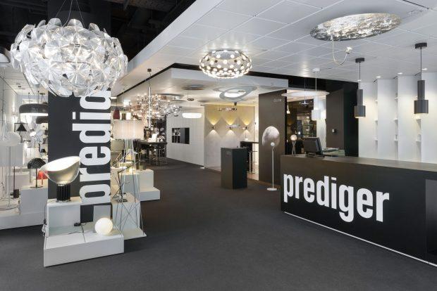 Showroom Berlin, Prediger Lichtberater, Abverkauf, Ausstellung, Ausstellungsware