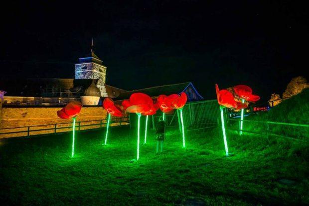 Kronach leuchtet 2019, Lichtkunst, Lichtkunstfestival, Prediger Lichtjournal