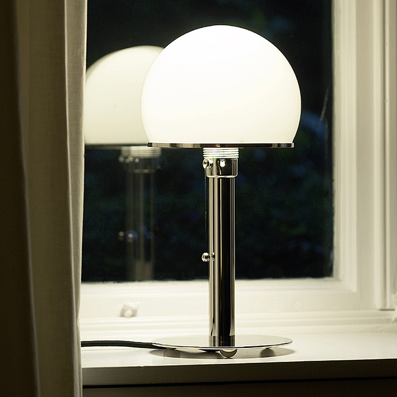 leuchtender advent wagenfeld wg 24 wa 24 von tecnolumen. Black Bedroom Furniture Sets. Home Design Ideas