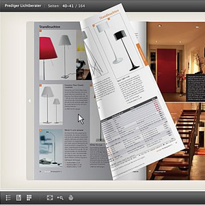 der prediger katalog jetzt online zum bl ttern prediger lichtjournal. Black Bedroom Furniture Sets. Home Design Ideas