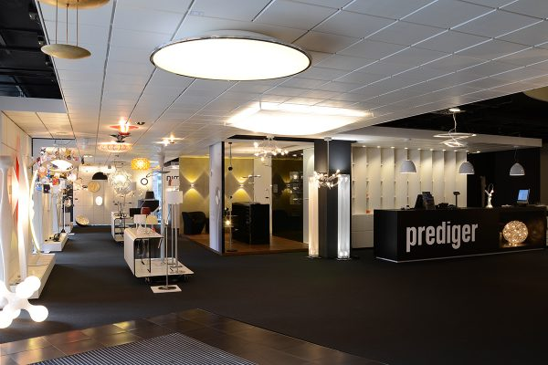 Prediger Showroom Hamburg Eingang