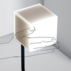 """Mit einfachen Handbewegungen lassen sich die """"Eyes""""-Leuchten an- und ausschalten und sogar dimmen. Foto: Hersteller"""