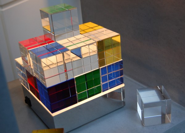 Tecnolumen Cubelight LED Tischleuchte