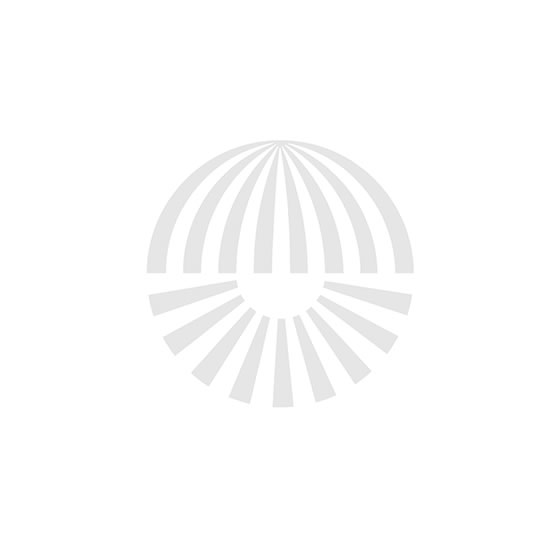 Bover Danona Mesa Tischleuchten Body Nickel-Leder dunkelbraun