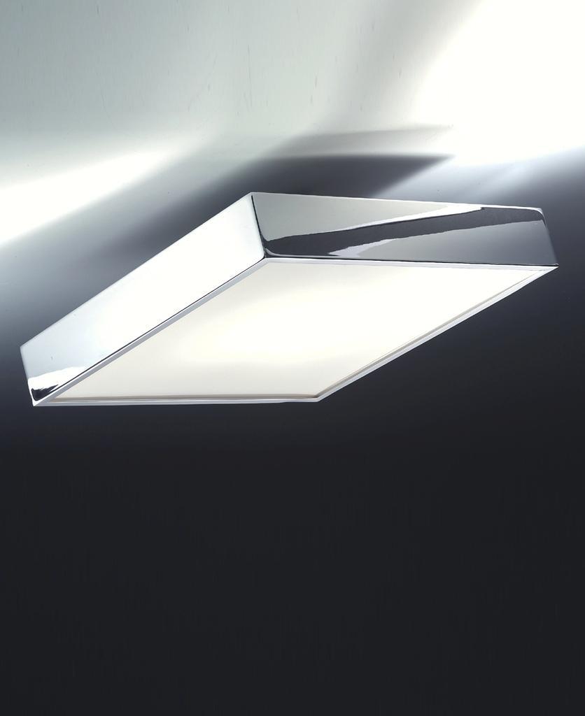 Cut N LED Deckenleuchten Chrom