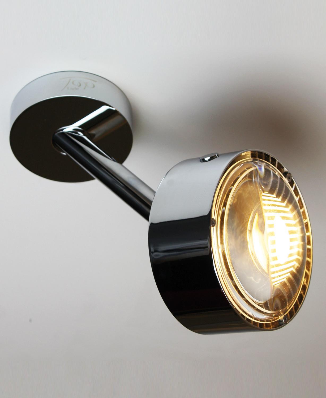 LED Design Wandleuchte mit magenta Filter Wohn Schlaf Zimmer Diele Flur Lampen