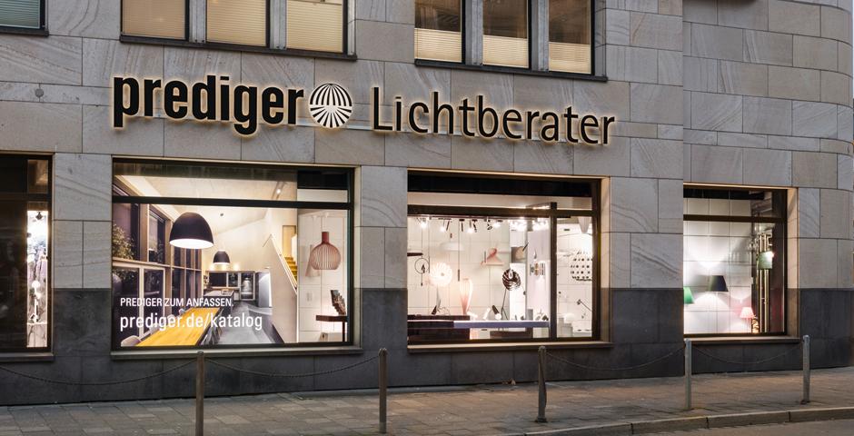 Der Düsseldorfer Showroom ist gut erreichbar und einladend.