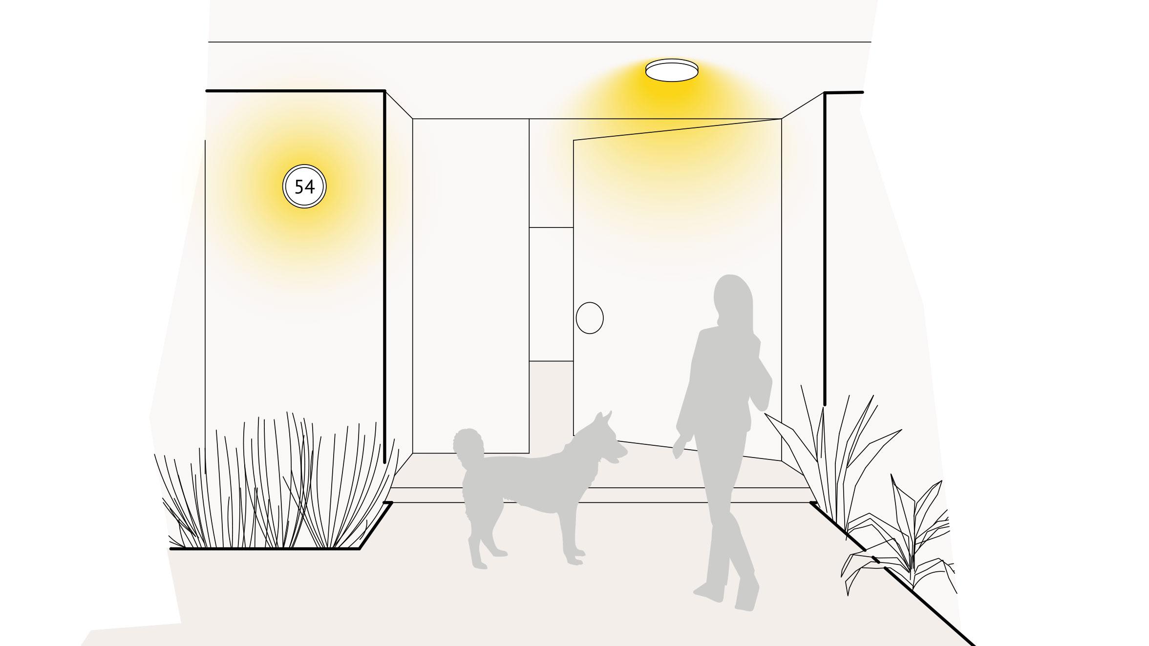 Lampen & Leuchten für den Hauseingang