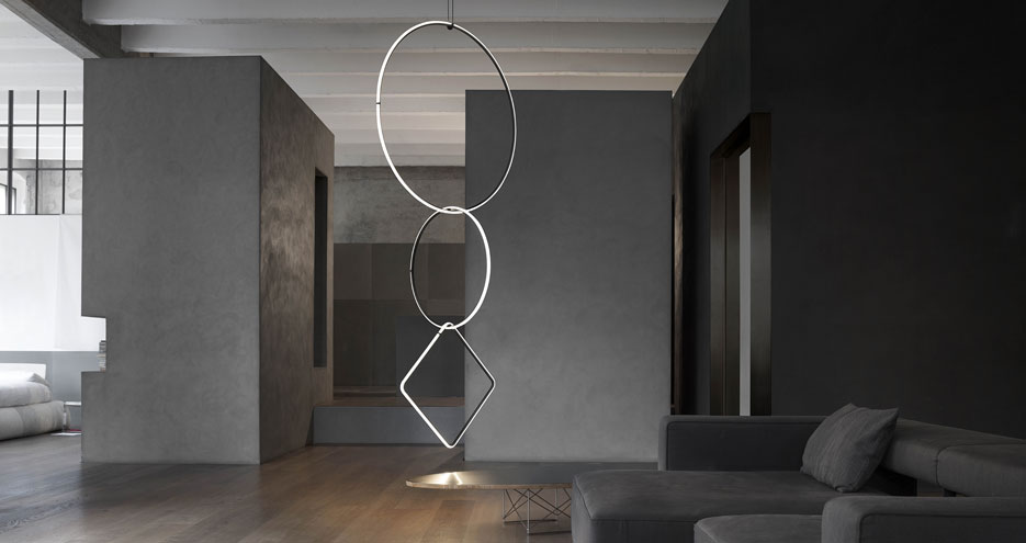 Dekobeleuchtung Lichtobjekte Acrylglas grau Hauseingang Kunststoff