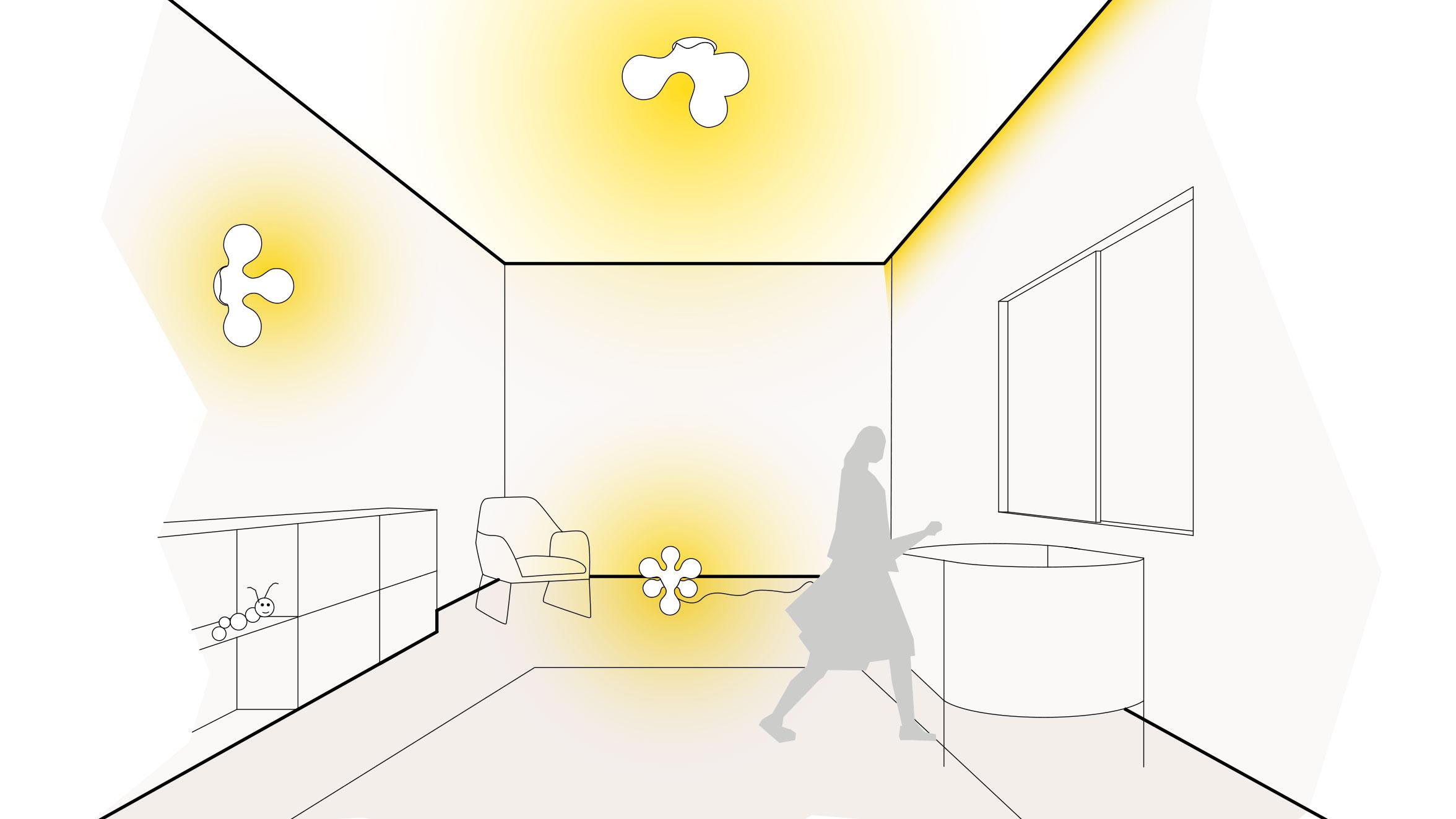 Licht Kinderzimmer