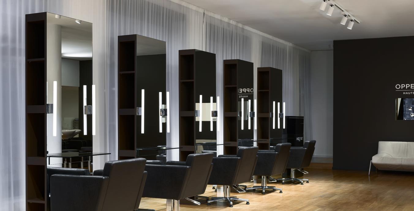 Perfektes Licht für Kunden und Friseur