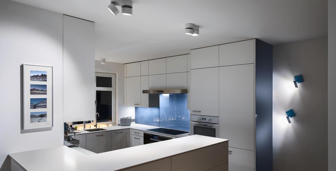 Helles Licht ist vor allem in der Küche ist wichtig.