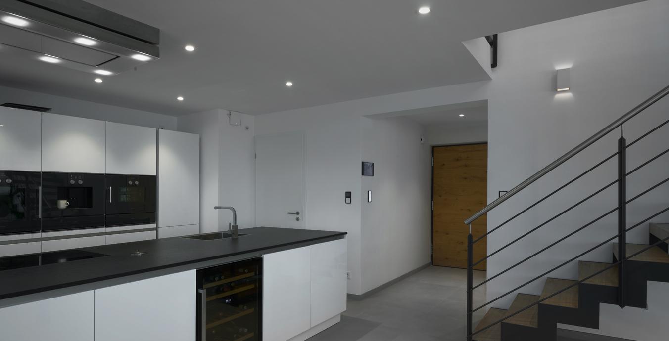 In der Küche ist gutes Licht jetzt garantiert.