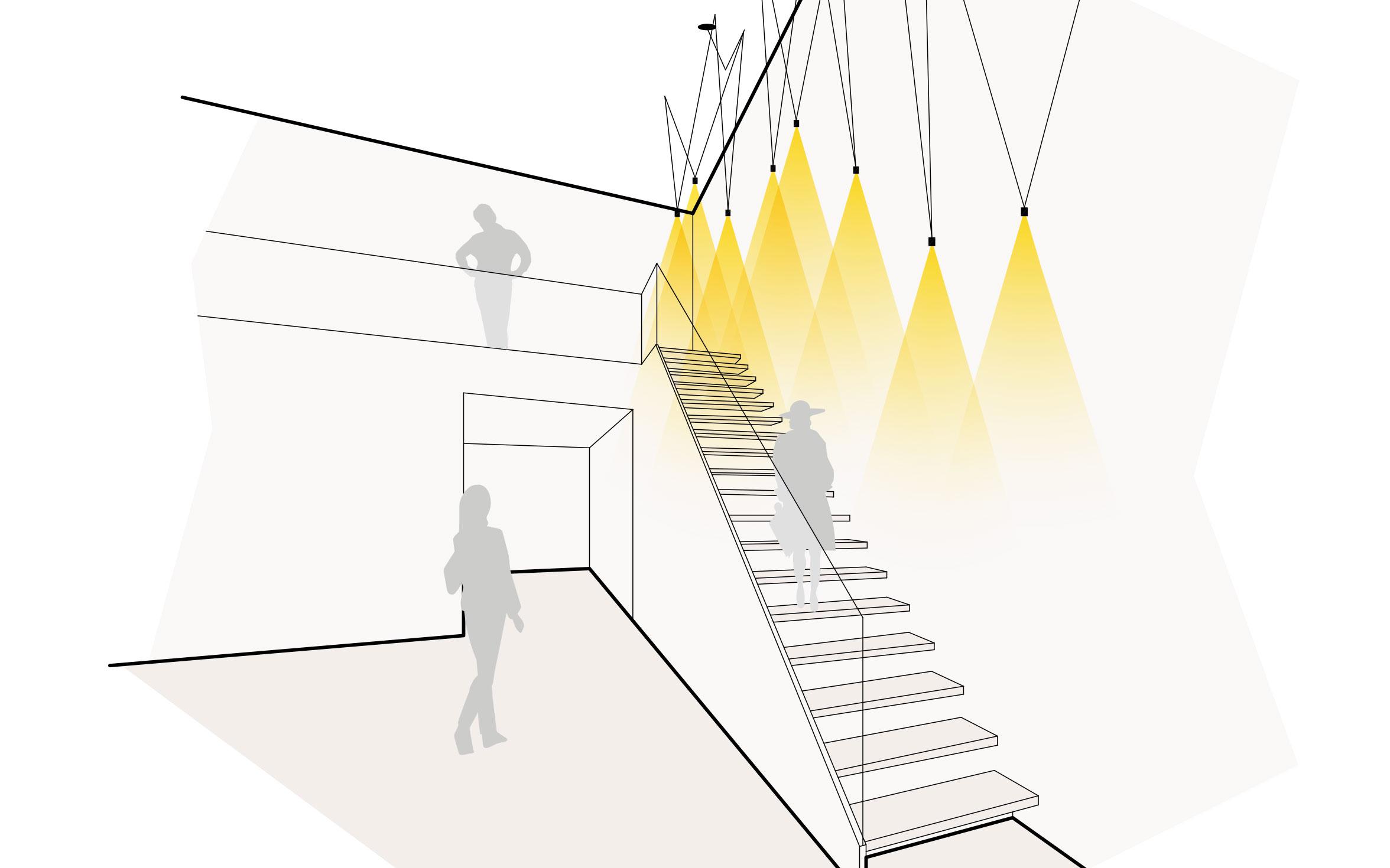 Licht & Lampen für die Treppe hier bestellen