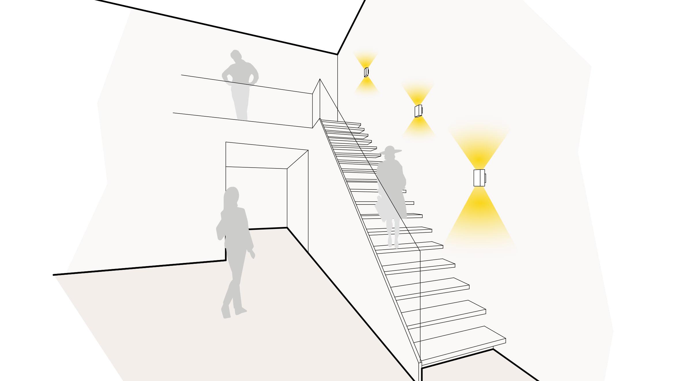 Treppenbeleuchtung von Prediger Lichtberater