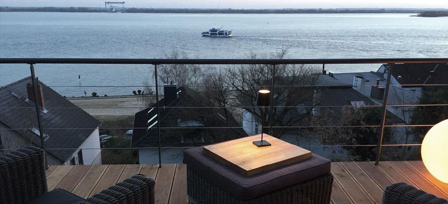 Außenleuchten Tischleuchten - Sigor Nuindie Akku-Tischleuchte