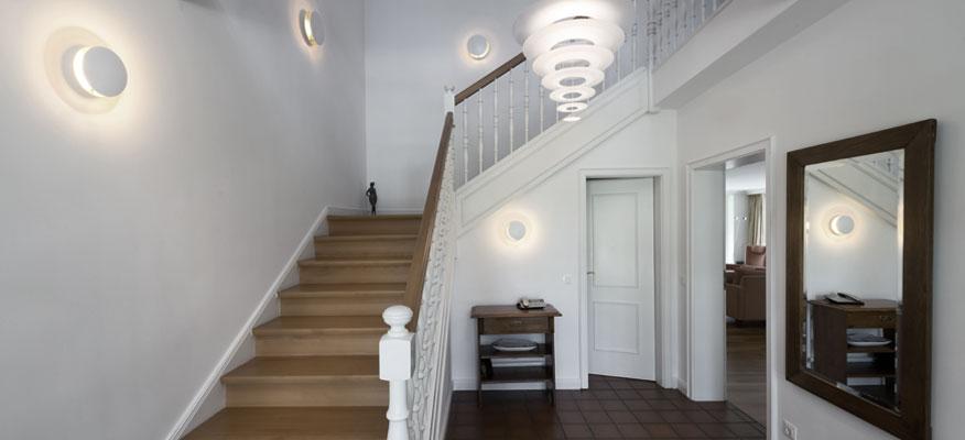 Innenleuchten Treppenhaus - Louis Poulsen Enigma Pendelleuchte